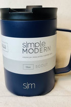 Simple Modern Navy 12 oz Scout